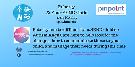 Puberty & your SEND Child - Jo Keys tickets