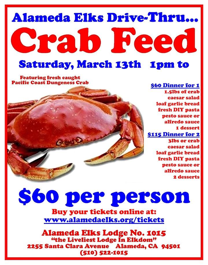 Alameda Elks Drive-Thru Crab Feed image