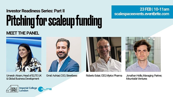 Investor Readiness Part II - Pitching for Scaleup Funding image