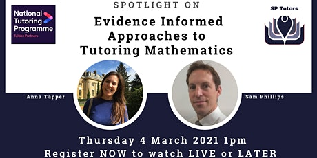 SP Tutors - Spotlight on Maths: Strategies for Primary and Secondary Pupils tickets