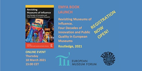 EMYA Book Launch: Revisiting Museums of Influence tickets