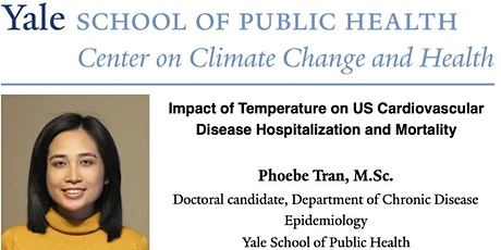 Impact of Temperature on Cardiovascular Disease Hospitalization & Mortality tickets
