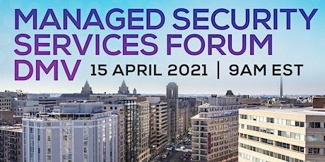 Managed Security Services Forum DMV tickets