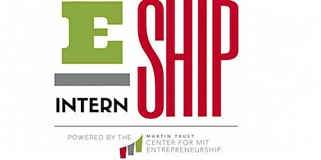 2021 MIT Entrepreneurship Internship Info Session #1 tickets