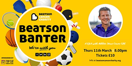 Beatson Banter Series 2: A Q & A evening with Steve Cram tickets