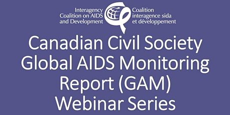 Seeking Canadian  Civil Society Input on Global AIDS Monitoring Report tickets