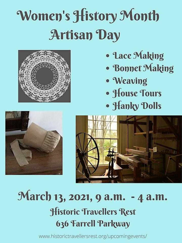 Women's History Month Artisan Day - Morning image