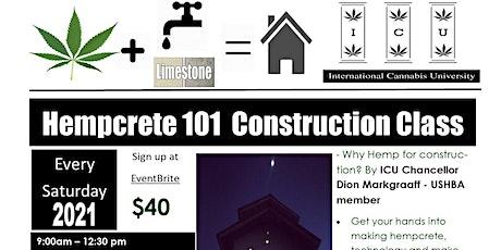 Hempcrete 101 tickets