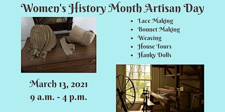 Women's History Month Artisan Day - Morning tickets