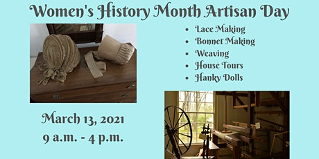 Women's History Month Artisan Day - Afternoon tickets