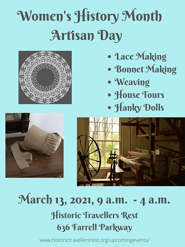 Women's History Month Artisan Day - Afternoon image