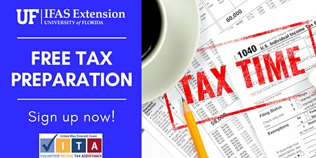 Free Tax Preparation 2021 Okaloosa County VITA (Volunteer Income Tax Assist tickets