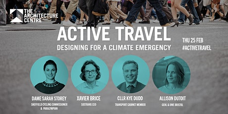 Active Travel: Designing for a Climate Emergency tickets