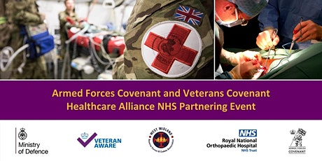 Armed Forces Covenant & Veterans Covenant Health Care Alliance (VCHA) Event tickets