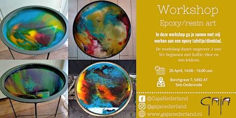 Workshop epoxy/resin art (middag) tickets