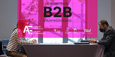 Encuentros B2B / B2B Topaketak entradas