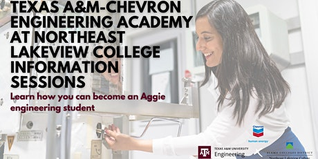 TEXAS A&M ENGINEERING ACADEMY ZOOM INFORMATION SESSION tickets