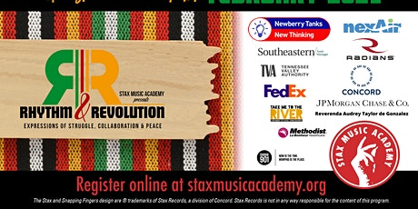 Rhythm & Revolution: An Expression of Struggle, Collaboration, and Peace billets