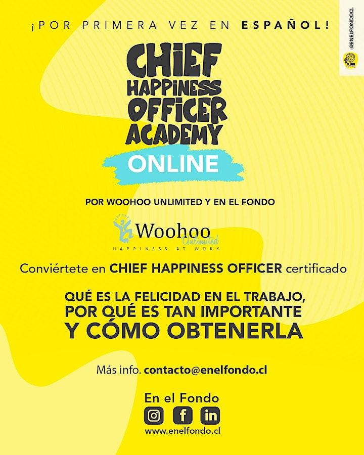 Imagen de FELICIDAD ORGANIZACIONAL: Certifícate como Director de Felicidad