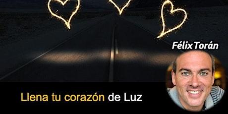 Llena tu corazón de Luz (meditación via Zoom) entradas
