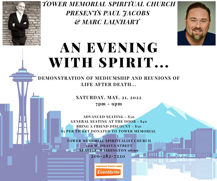 AN EVENING WITH SPIRIT - PAUL JACOBS AND MARC LAINHART - SEATTLE, WA image