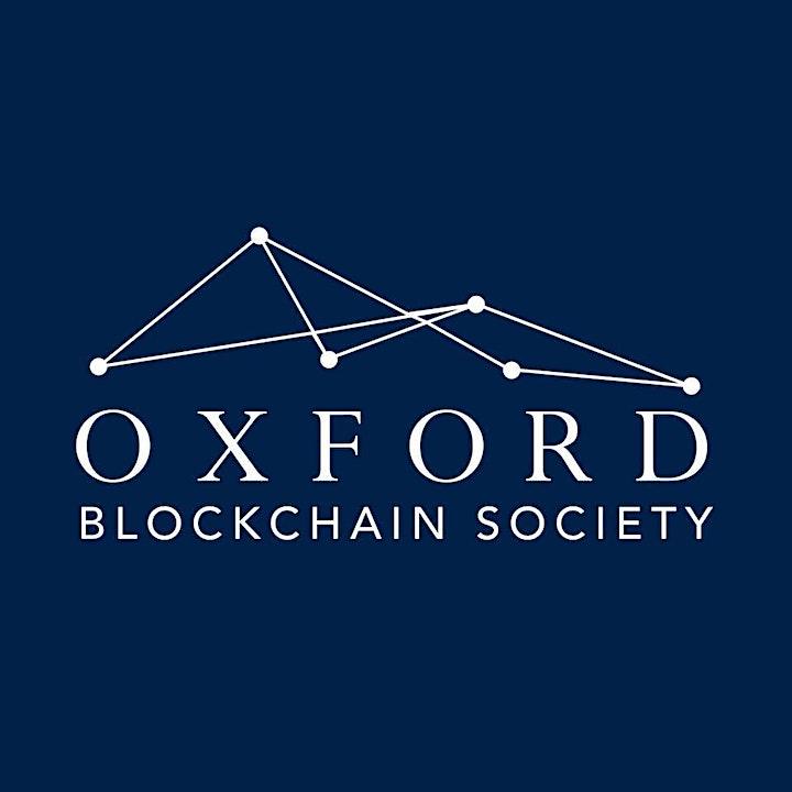 Oxford Blockchain Society event with Sacha Ghebali image