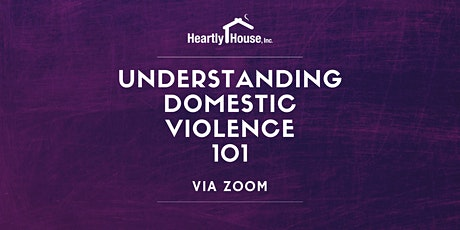 Understanding Domestic Violence 101 tickets