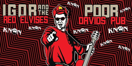 Igor and the The Red Elvises tickets