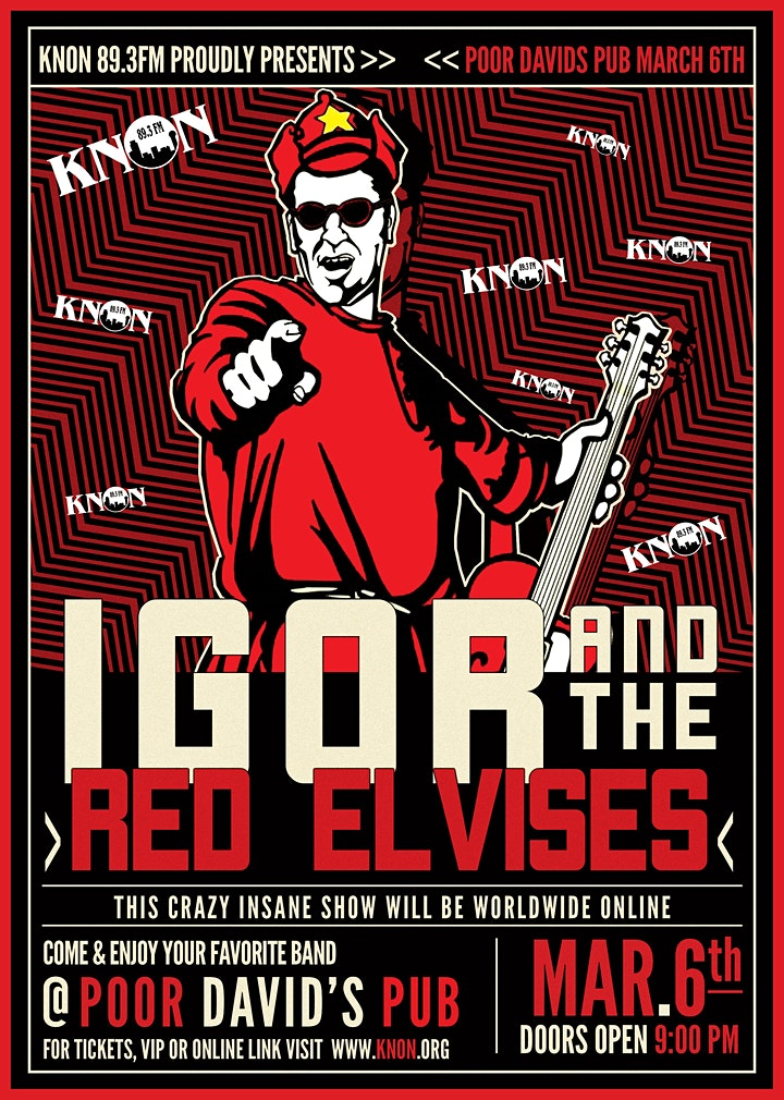 Igor and the The Red Elvises image