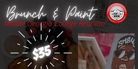 Brunch and Paint Middle Georgia College Reunion tickets