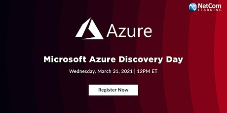 Live Event - Microsoft Azure Discovery Day tickets