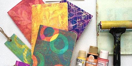 Adult/Teen Class: Monoprinting with Gelli Plates tickets