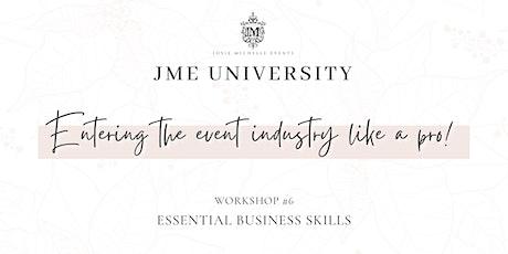 JME University - Essential Business Skills tickets
