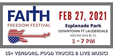 Faith Freedom Festival tickets