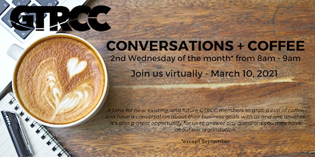Conversations + Coffee  - March 2021 tickets