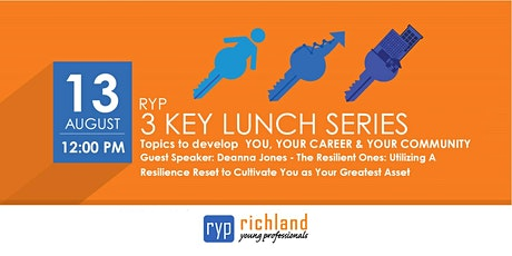 RYP 3 KEY Lunch Series - August tickets