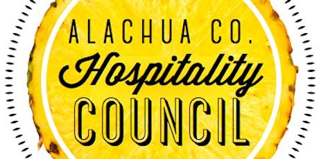 Alachua County Hospitality Council - March tickets