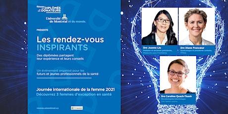 LES RDV INSPIRANTS | Des femmes d'exception en santé billets