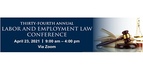 URI SLRC 34th Annual Labor and Employment Law Conference tickets