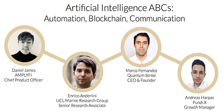 Artificial Intelligence ABCs:  Automation, Blockchain, Communication biglietti