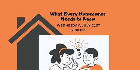 Webinar: What every homeowner needs to know tickets