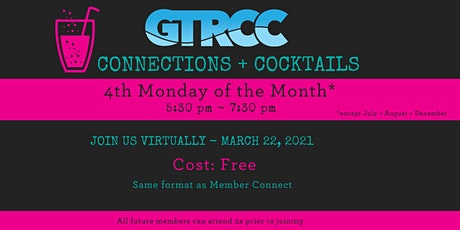 Connections + Cocktails -  March 2021 tickets
