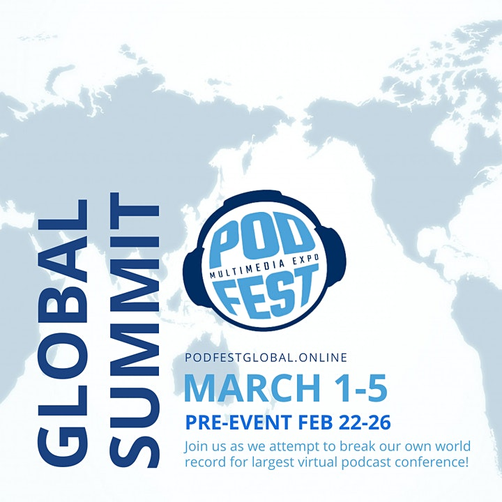 Podfest Global  2021 (Virtual) image