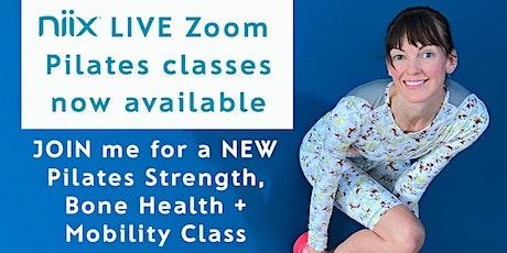 niix LIVE  Virtual Zoom Pilates Classes tickets