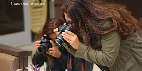 Beginner + Get Off of Auto, Digital Camera Class for Teens! (Orange County) tickets