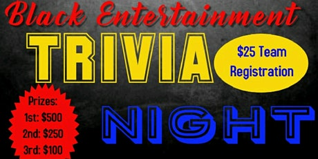 Black Entertainment Trivia tickets