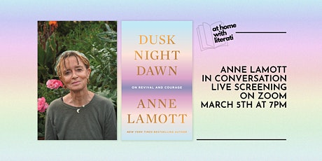 At Home with Literati: Anne Lamott tickets