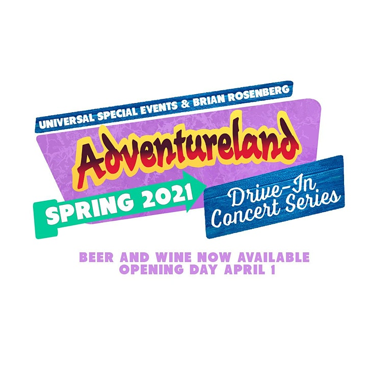 OPENING DAY! Mike DelGuidice On The Porch : At Adventureland: Drive-In image