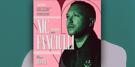 Nic Fanciulli at It'll Do Club tickets