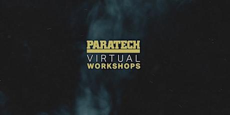Taller Virtual Paratech - Rescate en zanjas avanzado entradas